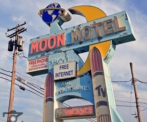 aesthetic, motel, and vintage image