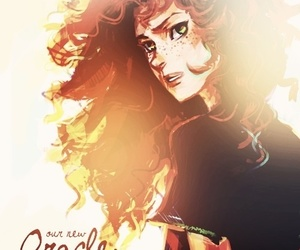 rachel elizabeth dare, oracle, and percy jackson image