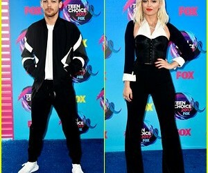 celebrities, singers, and teen choice awards image