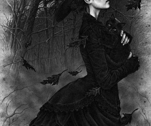 black, yagmur, and mucize image