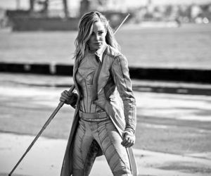 sara lance, legends of tomorrow, and white canary image