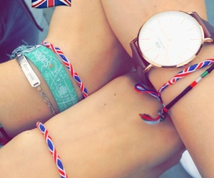 bracelet, fashion, and friendship image