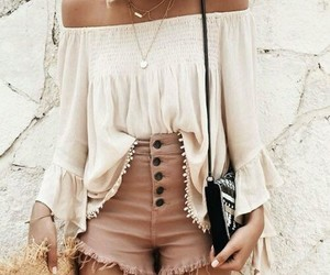 aesthetic, outfit, and brown image