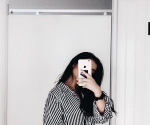 aesthetic, black, and blouse image