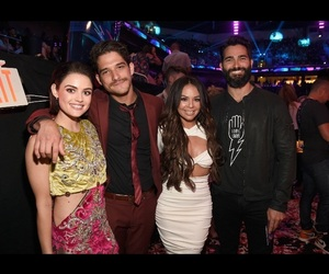 actors, lucy hale, and tyler posey image