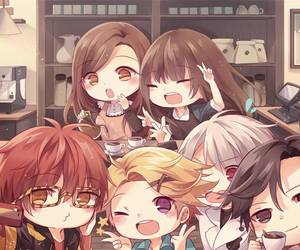 mystic messenger, Mc, and zen image