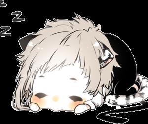 chibi, bungou stray dogs, and anime boy image