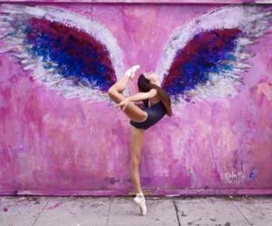 dancer, ballerina, and ballet image
