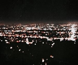 light, city, and dark image