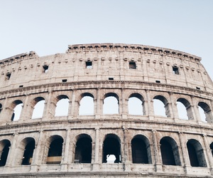colosseum, rome, and rom image