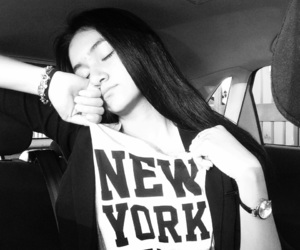 blackandwhite, clothes, and nyc image