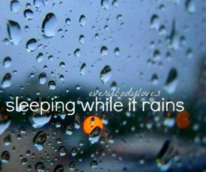 quote, raining, and text image