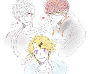 anime boy, mystic messenger, and luciel choi image