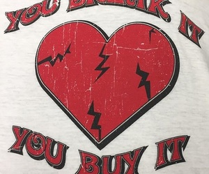 red, heart, and quotes image