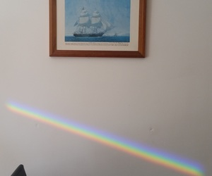 aesthetics, rainbow, and boy image