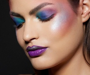 blue, colorful, and fashion image