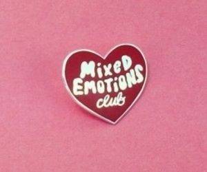 pink, heart, and club image