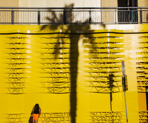 wall and yellow image