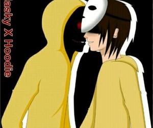 masky hoodie creepypasta image