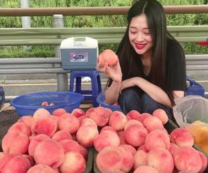 sulli, kpop, and peach image