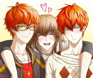 mystic messenger, Mc, and luciel choi image