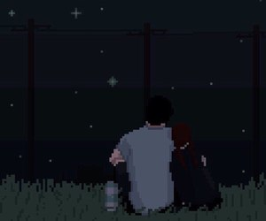 pixel, night, and picture image