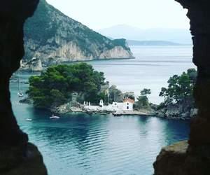 Greece, travel, and parga image