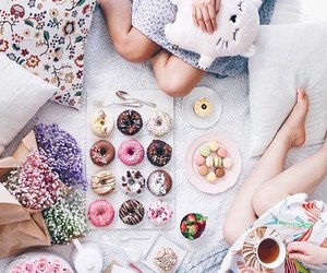 accessories, donuts, and fashion image