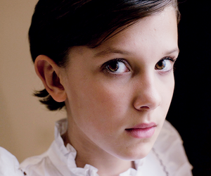 brunette, pretty, and millie bobby brown image