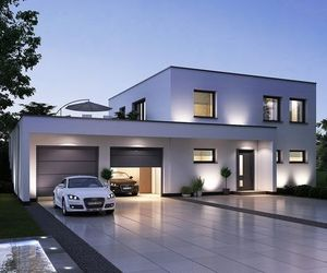 audi and house image
