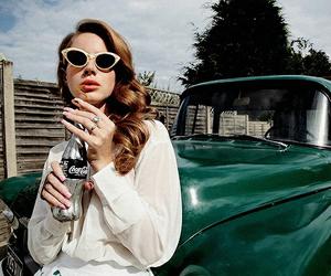 lana del rey, car, and vintage image