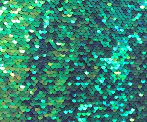 glitter and green image