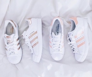 adidas, gold, and aesthetic image
