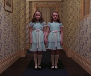The Shining, twins, and movie image