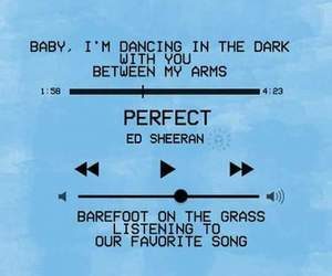 ed sheeran, perfect, and blue image