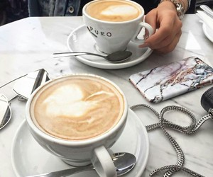 cappuccino, chic, and coffee image