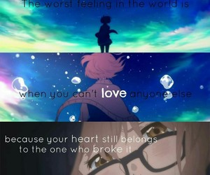 quote, sad, and anime quotes image