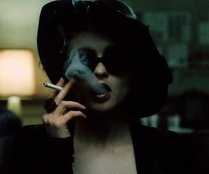 fight club, smoke, and cigarette image