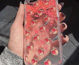 peach, case, and phone case image
