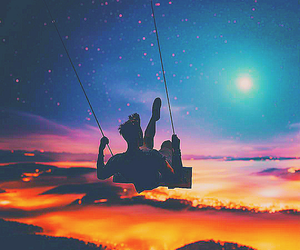 sky, Dream, and light image
