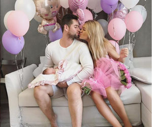 family, couple, and pink image