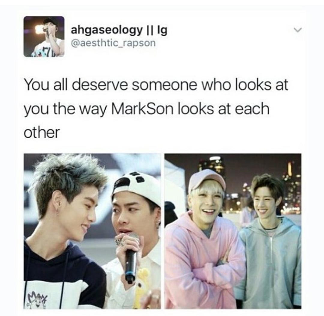 jackson, cute, and mark tuan image