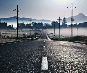 road, photography, and landscape image