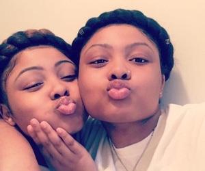 besties, twin sisters, and baddies image