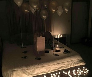 bedroom, couple, and I Love You image