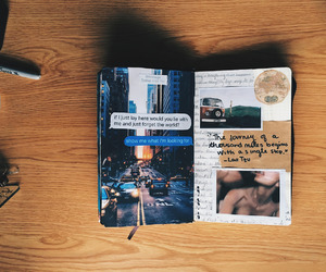 art, creative, and diary image