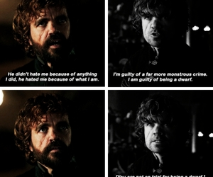 game of thrones and tyrion lannistet image