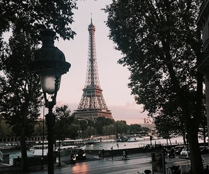 paris, travel, and france image