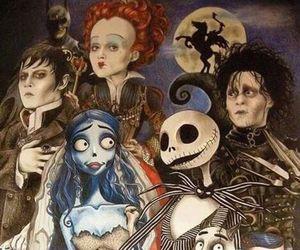 tim burton, coraline, and corpse bride image
