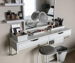 room, home, and makeup image